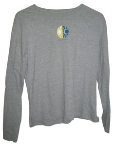 The North Face Longsleeve T Shirt Gray