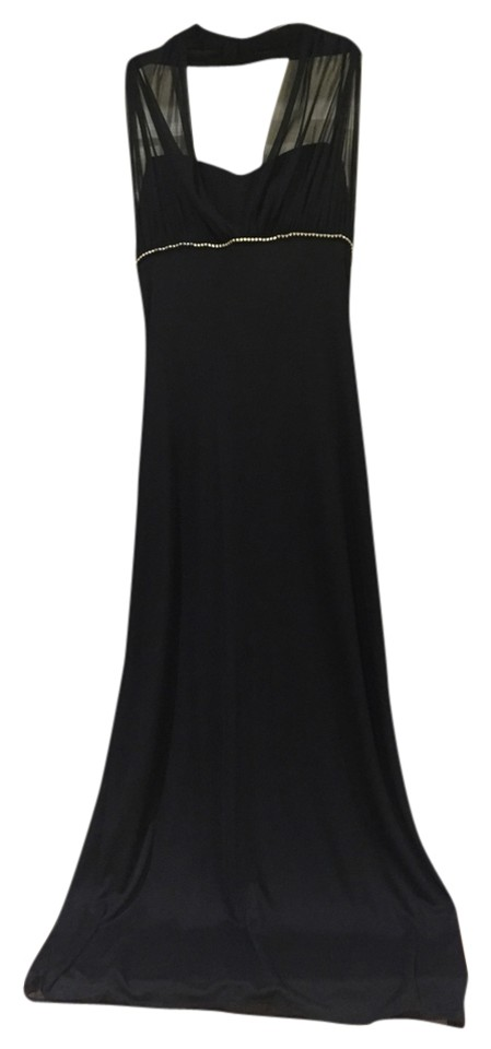 3c4f8e34ec7 Betsy   Adam Black Rn 62335 Long Cocktail Dress Size 6 (S) - Tradesy