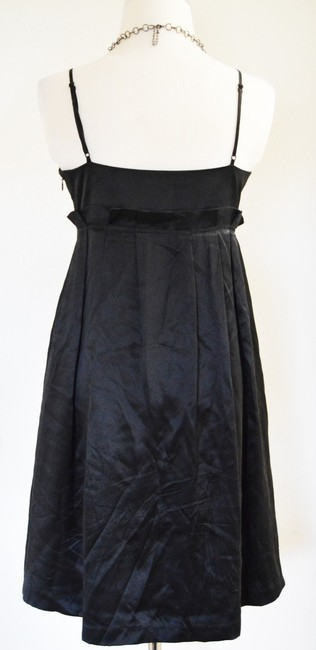 Betsey Johnson Betseyville Lbd Silk Party Night Out Euc Sexy Cocktail Dress