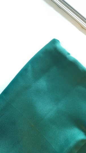 Pine Green 15 Satin Overlays Tablecloth