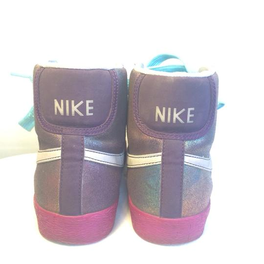 Nike Purple Metalic Athletic