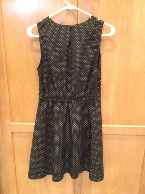 Other short dress Polka Dot Peter Pan Collar Black And White on Tradesy