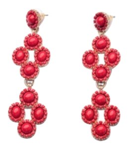 Other dot Sardinia chandeliers three way statement earring bohemian color