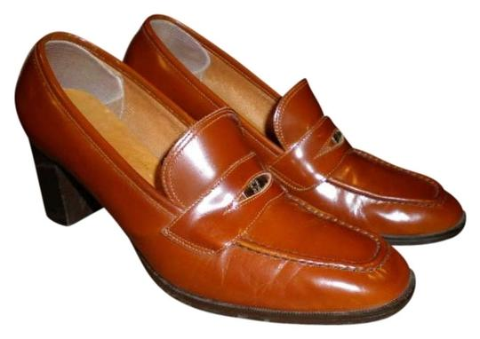 ENTIENNER AIGNER Very Nice Color RUST Pumps