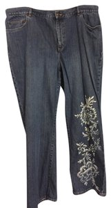 Lauren Ralph Lauren Straight Pants Blue