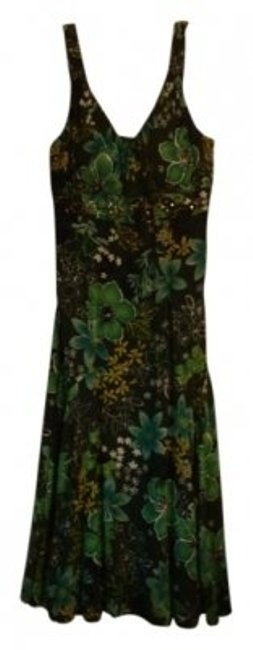 Preload https://item1.tradesy.com/images/green-floral-style-161914jp-mid-length-casual-maxi-dress-size-12-l-38780-0-0.jpg?width=400&height=650