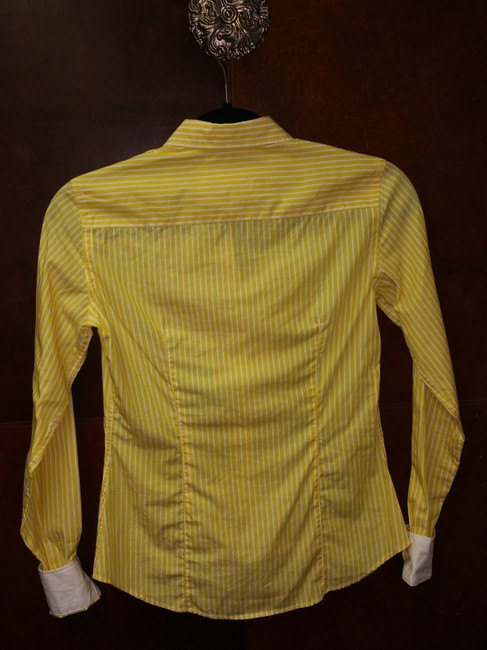 Lilly Pulitzer Top Yellow and white