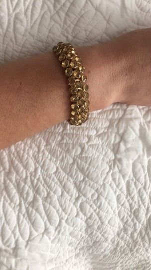 Nordstrom Amber Stone And Gold Bracelet
