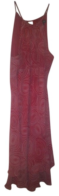 Jonathan Martin Red and White Classic Knee Length Work/Office Dress Size 10 (M) Jonathan Martin Red and White Classic Knee Length Work/Office Dress Size 10 (M) Image 1