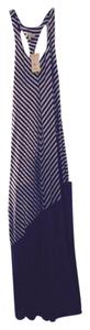 Black and white stripe Maxi Dress by Cecico