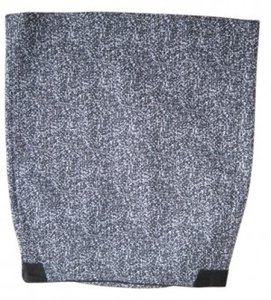 Theory Skirt Black and gray tweed