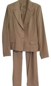 Caslon Caslon Tan Thin Striping Pantsuit