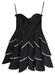 Betsey Johnson Homecoming Prom Bachelorette Party Strapless Lbd Dance Night Out Dress