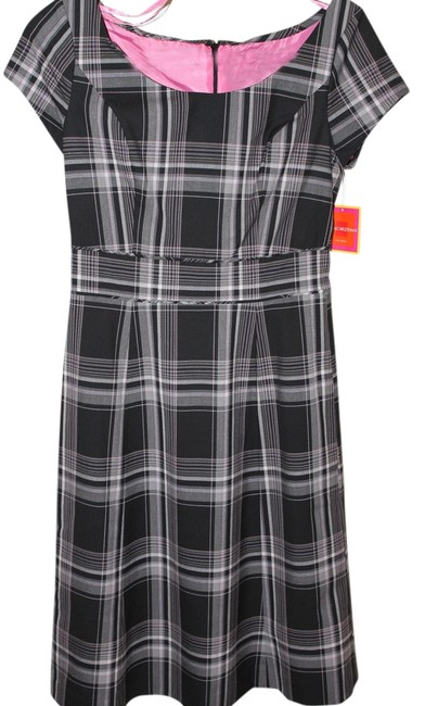 Isaac Mizrahi for Target Knee Length Fitted Striped Dress