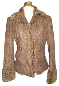 Fundeamental Things brown multi tweed Blazer