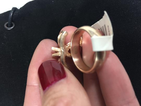 Chanel Chanel Gold Ring with Pearls and Crystals sz 52 Image 5