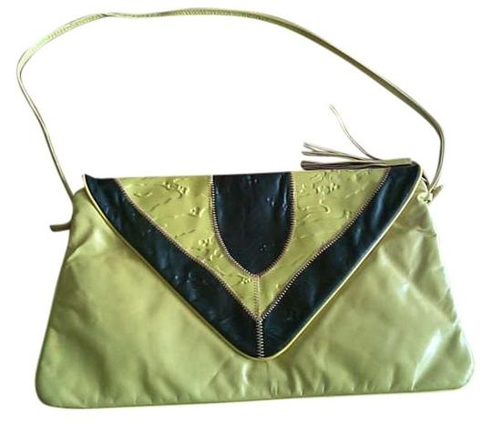 Preload https://item5.tradesy.com/images/envelope-shaped-yellow-faux-leather-shoulder-bag-388089-0-0.jpg?width=440&height=440