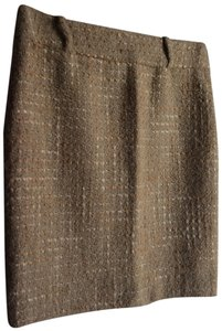 Dolce&Gabbana Dolce Wool Pencil Skirt Gold
