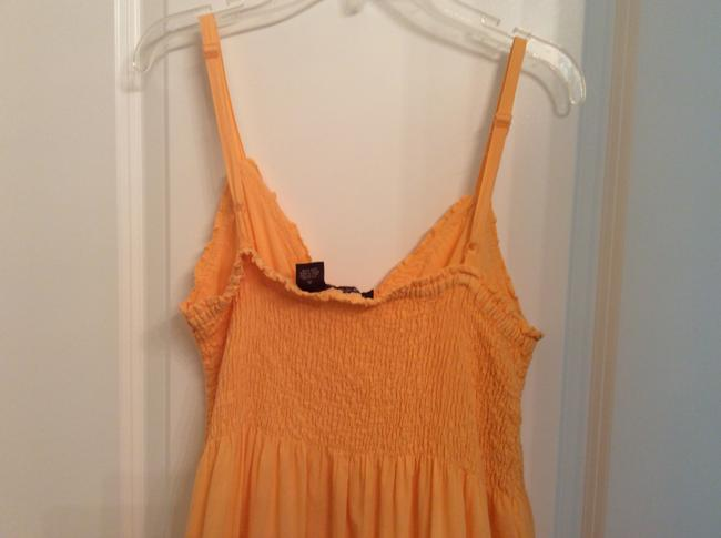 Other short dress Light orange Orange Summer Cotton Summer Cotton Orange Cotton Vintage Summer on Tradesy