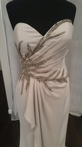 Terani Couture Silver E3762 Dress