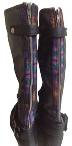 Pink & Pepper Black/ multi Boots