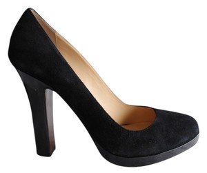 Cole Haan Suede Pump Patent Leather black Pumps