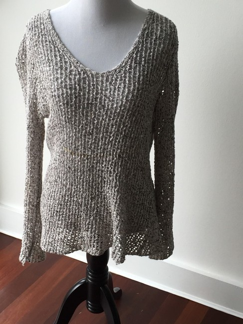 Eileen Fisher Open Weave Loose Weave Sweater