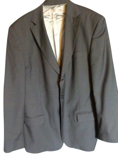 van dyke Casual Formal Pinstripe grey Jacket