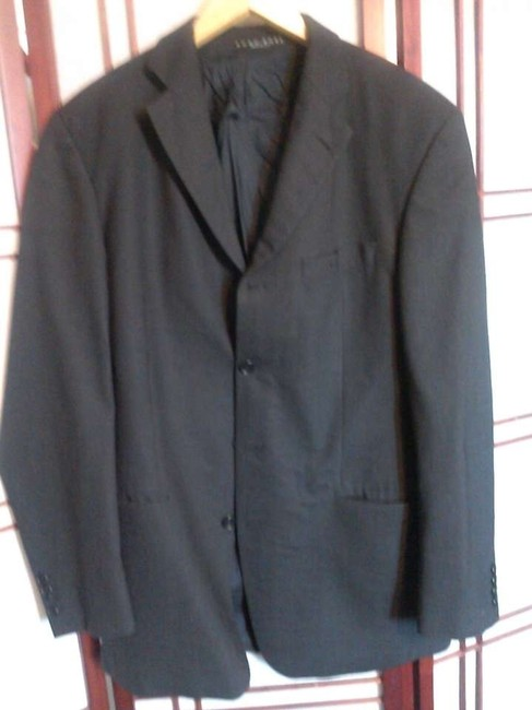 Hugo Boss Dryclean Only Pinstripe grey Jacket