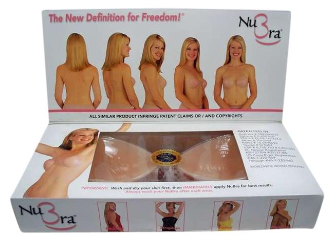 Item - Nude Silicone Bras N108 Size A
