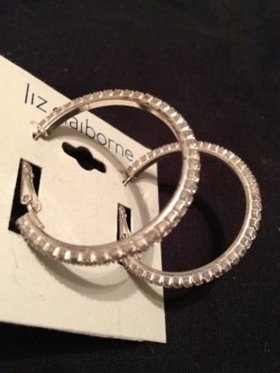 Liz Claiborne Liz Claiborne Medium Hoop Earrings