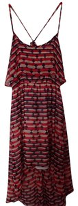 Red Multi Maxi Dress by Romeo & Juliet Couture Pattern High-low Maxi Day Featured
