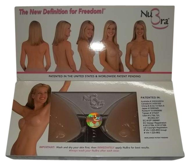 Item - Nude Silicone Push Up Bras N108pu Size A Cup
