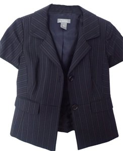 Ann Taylor Jacket Suit Work Black Blazer