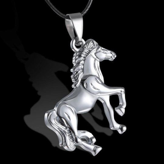 Other BOGO Stainless Steel Horse Necklace Free Shipping