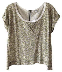 Splendid Zip-back Lounge T Shirt Floral