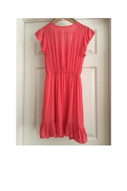 Other short dress Coral Ladies Ruffle on Tradesy