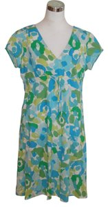 Boden short dress Turquoise Short Sleeve on Tradesy