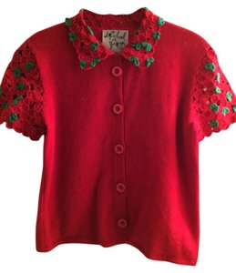Michael Simon Vintage Sample Cherries Sweater