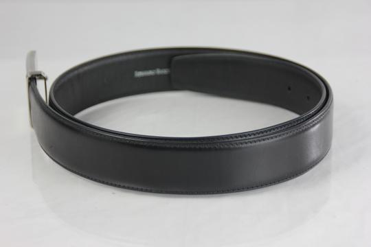 Stefano Ricci * Stefano Ricci Black Leather Belt - 95/34