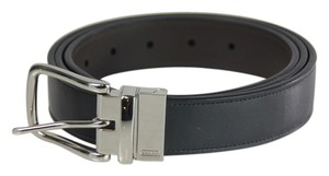 Coach * Coach HRN SmoothReversible Belt - 42 - Black/Mahogany