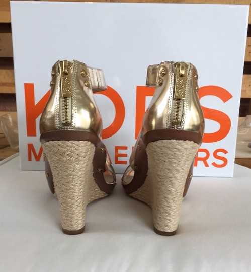 Michael Kors Never Worn Box Included Gold Sandals