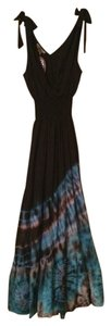 Black, Blue, Turquoise, Purple, Pink Maxi Dress by Gypsy Rose