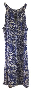 Skinz short dress Blue & White And Easy Fun Versatile on Tradesy