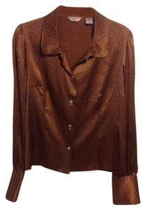 Original Penguin by Munsingwear Top Brown