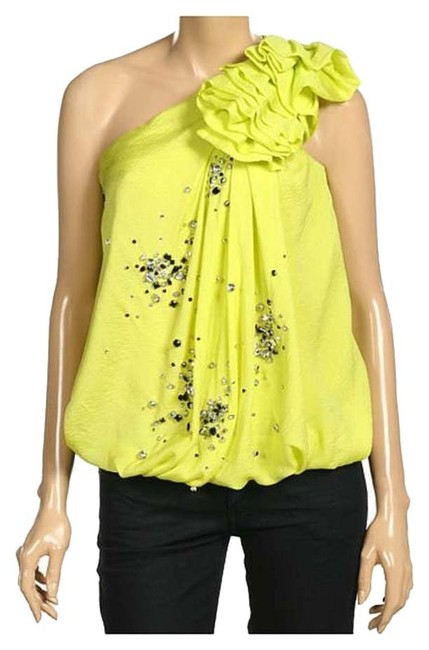 Preload https://img-static.tradesy.com/item/388560/robert-rodriguez-acid-yellow-green-style-r909t30-night-out-top-size-0-xs-0-0-650-650.jpg
