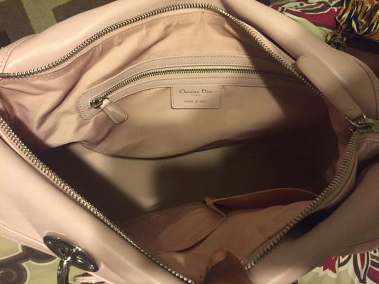 Dior Tote in Baby Pink
