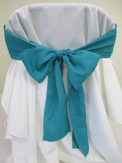 Preload https://item2.tradesy.com/images/purple-25-turquoise-polyester-chair-sashes-reception-decoration-388571-0-1.jpg?width=440&height=440