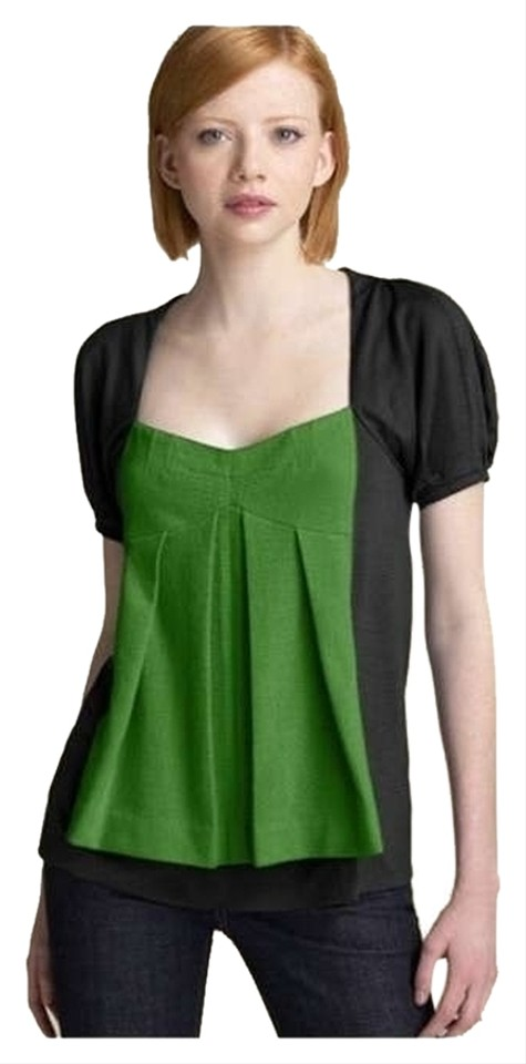 24df03a494277 Marc by Marc Jacobs Black   Green Style  M182650 Tee Shirt Size 2 ...