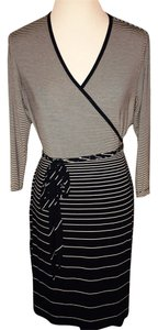 Calvin Klein short dress Black, Gray & White on Tradesy